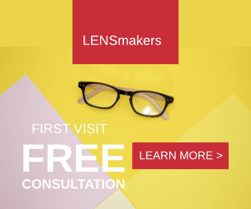 Bold Eyeglasses Banner Ad Template
