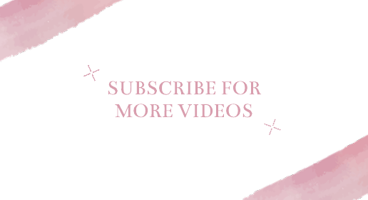 Pink Starburst Youtube End Screen Template
