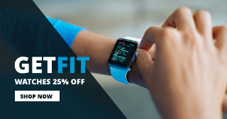 Fitness Watch Facebook Ad Template