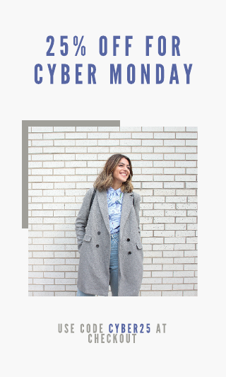 Cyber Monday coupon template