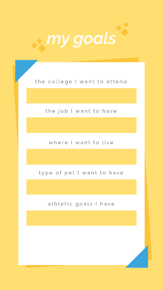 Bright Yellow Get to Know Me Instagram Story Template