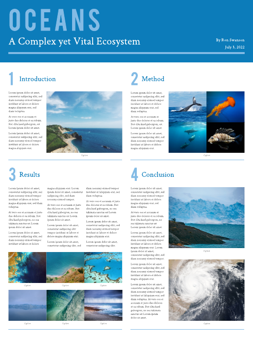 ecosystem scientific poster sample