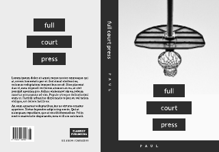 Full Court Press Book Cover Template