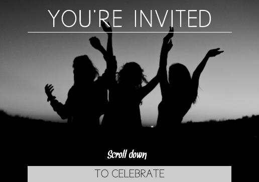 digital invitation template
