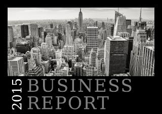 Downtown Digital Report Template