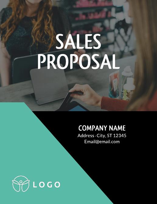 Asymmetrical sales proposal template