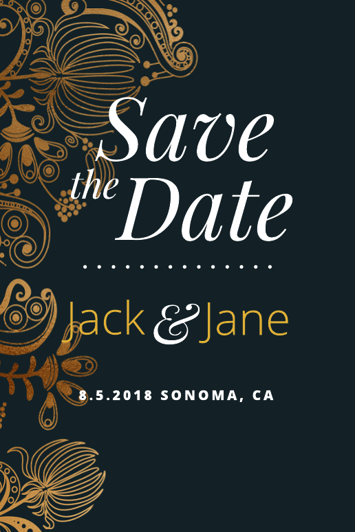 Goldleaf Save-the-Date