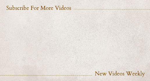 Simple Brown Texture Youtube End Screen Template