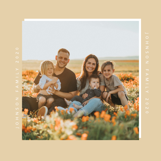 Family Photo Instagram Post Template