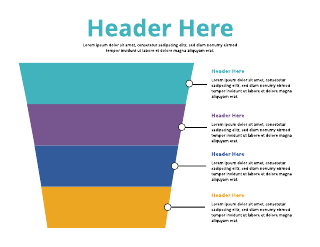 4 Tiered Sales Chart