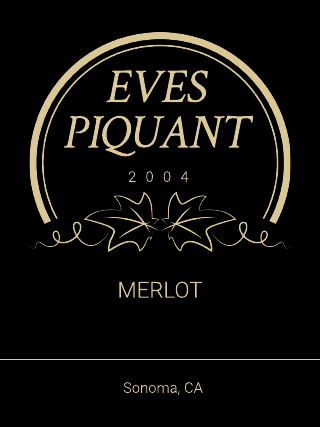 Luxury Wine Product Label Template