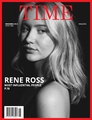 Time Fake Magazine Cover Template