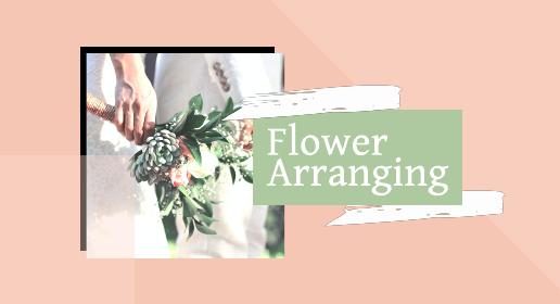 Pink Flower Arrangement Youtube Banner Template