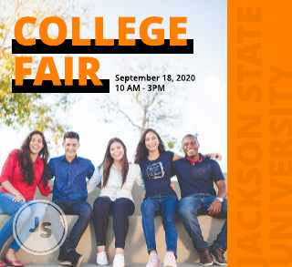 College fair event program template
