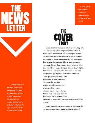 company newsletter example
