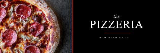 Pizza Shop Twitter Header Template