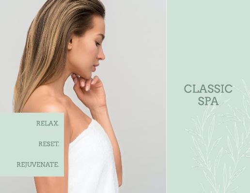 Sage Massage Spa Brochure