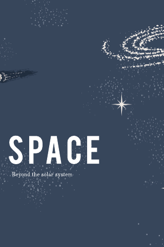 Space Poster Template