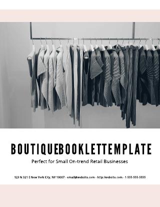 Boutique Lookbook Template