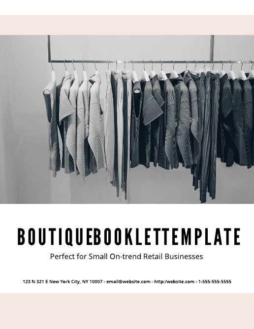 Boutique Lookbook Template
