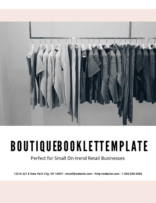 Boutique Booklet