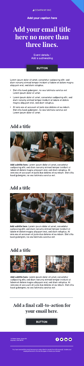 Smart Email Template
