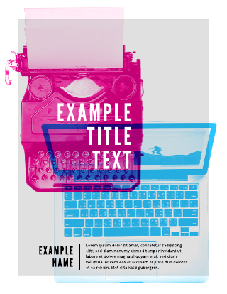 Vibrant marketing proposal template
