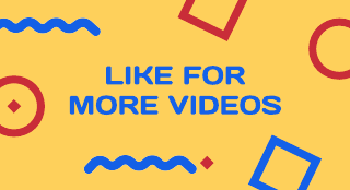 Primary Color With Shapes Youtube End Screen Template