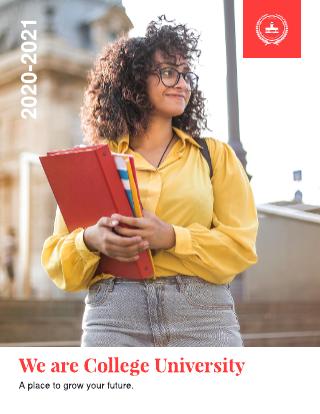 College Recruiting Brochure Template