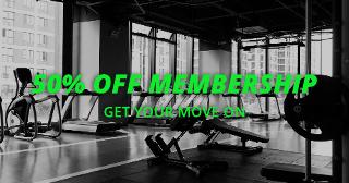 Gym Membership Facebook Ad Template