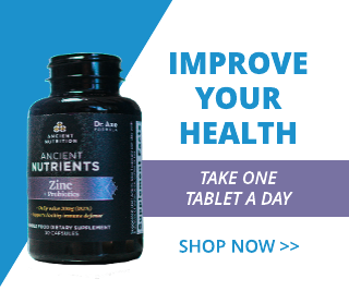 Blue Vitamin Banner Ad Template