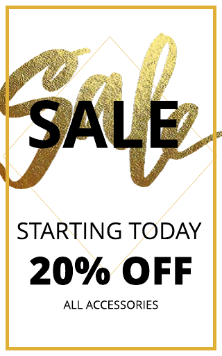 Gold Sale Advertising Banner Template