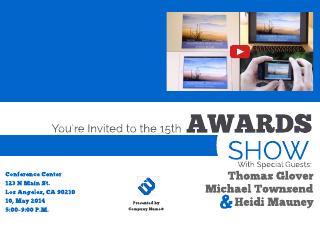 online event invitation template
