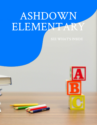 Elementary Magazine Template