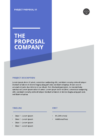 General project proposal template