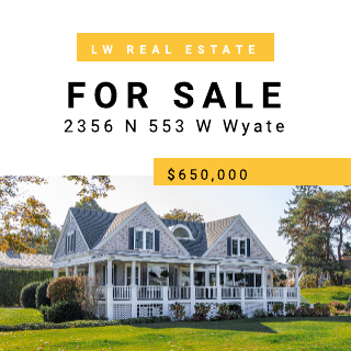 Real Estate Listing Facebook Post Template