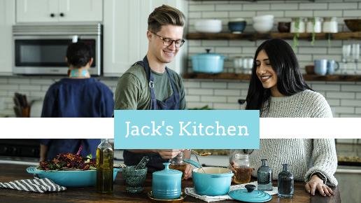 Blue and White Kitchen Youtube Thumbnail